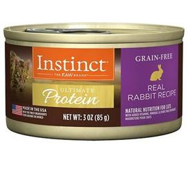 Natures Variety Instinct Ultimate Protein Rabbit Canned Cat Food