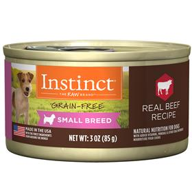 Natures Variety Instinct Wet Canine Original Real Beef Recipe Small Breed