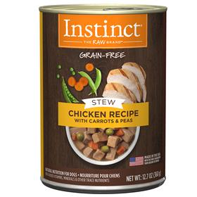 Natures Variety Instinct Wet Canine Stews Chicken Recipe with Carrots and Pea