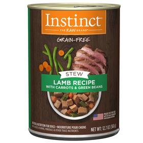 Natures Variety Instinct Wet Canine Stews Lamb Recipe with Carrots and Green Beans