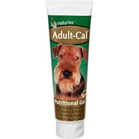 NaturVet Adult Cal Nutritional Gel for Dogs