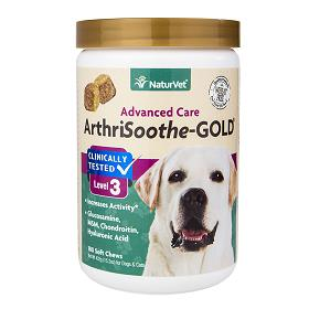 NaturVet ArthriSoothe GOLD Level 3 Soft Chew