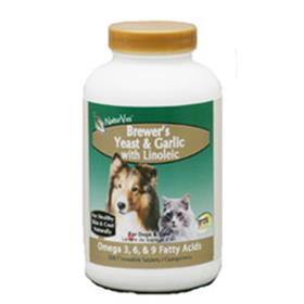 Naturvet Brewers Yeast and Garlic with Linoleic