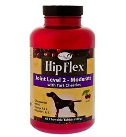 NaturVet Overby Farm Hip Flex Joint Level Dog Tablets