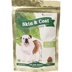 NaturVet Skin and Coat Soft Chews