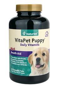 Naturvet VitaPet Puppy Tablets