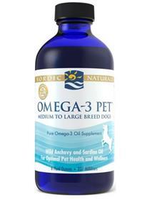 Nordic Naturals Omega 3 Pet Oil Supplement Liquid