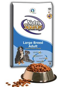 NutriSource Large Breed Adult Chicken and Rice