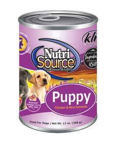 NutriSource Puppy Recipe Canned Dog Food
