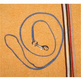 Nylon Show Lead Lightweight Silver Snap