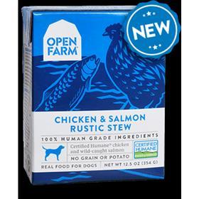 Open Farm Chicken Salmon Rustic Stew Dog Wet Food