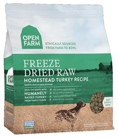 Open Farm Freeze Dried Raw Dog Food Homestead Turkey Recipe