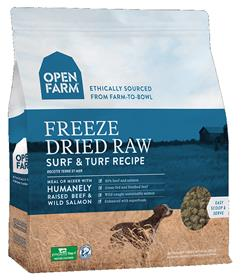 Open Farm Freeze Dried Raw Dog Food Surf and Turf Recipe