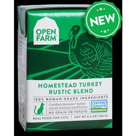 Open Farm Grain Free Homestead Turkey Recipe Rustic Blend Wet Cat Food