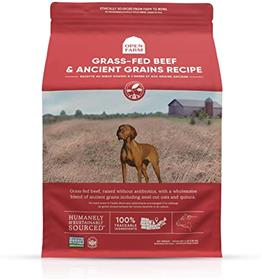 Open Farm Grass Fed Beef Ancient Grains Dry Dog Food