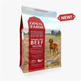 Open Farm Grass Fed Beef Dry Dog Food