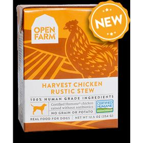 Open Farm Harvest Chicken Rustic Stew Dog Wet Food