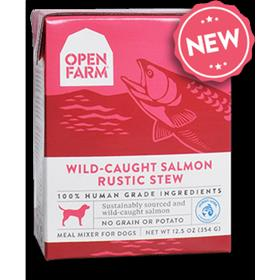 Open Farm Wild Caught Salmon Rustic Stew Dog Wet Food