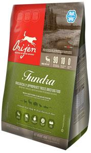 Orijen Freeze Dried Dog Food Tundra