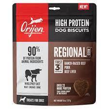 Orijen High Protein Regional Red Crunchy Biscuit Dog Treats