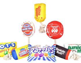 OurPets Candy Themed Dog Toy