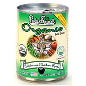 Party Animal Organic Dog Food California Chicken Recipe