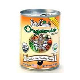 Party Animal Organic Dog Food California Turkey Recipe