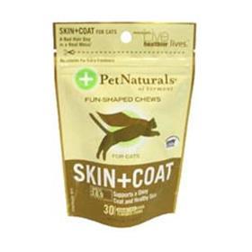 Pet Naturals of Vermont Skin and Coat Cat Chews