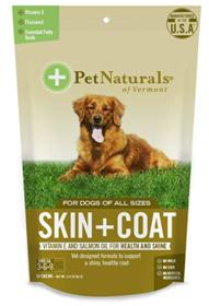 Pet Naturals of Vermont Skin and Coat Chews