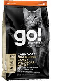 Petcurean Go Carnivore Grain Free Lamb Wild Boar Recipe Cat Food
