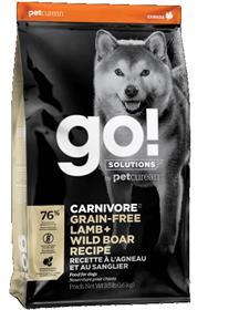 Petcurean Go Carnivore Grain Free Lamb Wild Boar Recipe