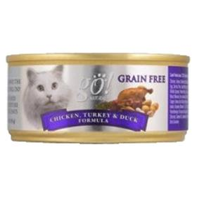 Petcurean GO Natural Chicken Turkey and Duck Canned Cat Food