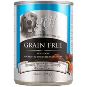 Petcurean GO Natural Grain Free Trout Cans