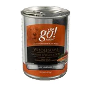 Petcurean GO Natural Salmon and Vegetable Canned Dog Food