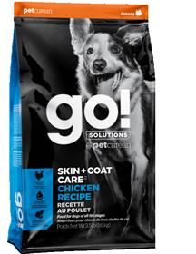 Petcurean Go Solutions Skin Coat Care Chicken Recipe Dry Dog Food