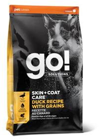 Petcurean GO Solutions Skin Coat Care Duck Recipe With Grains Dry Dog Food