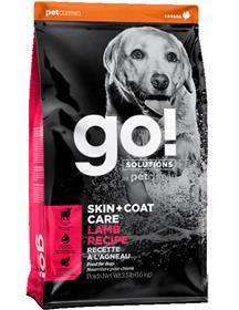 Petcurean Go Solutions Skin Coat Care Lamb Recipe Dry Dog Food