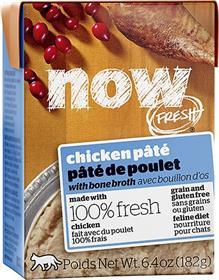 Petcurean Now Fresh Grain Free Chicken Pate Wet Cat Food