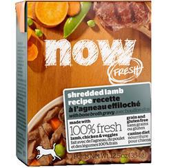 Petcurean Now Fresh Grain Free Shredded Lamb Recipe with Bone Broth Gravy