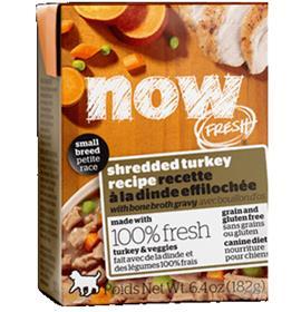 Petcurean Now Fresh Grain Free Small Breed Shredded Turkey Recipe