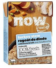 Petcurean Now Fresh Grain Free Turkey Stew Wet Cat Food