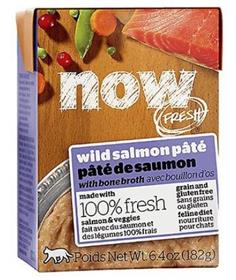 Petcurean Now Fresh Grain Free Wild Salmon Pate Wet Cat Food
