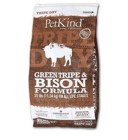 PetKind Tripe Dry Green Tripe and Bison Dry Dog Food