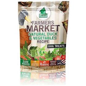 Plato Farmers Market Duck Vegetables Grain Free Dog Treats