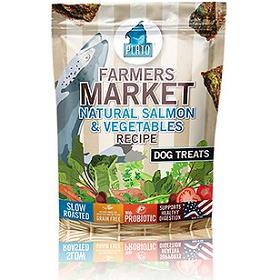 Plato Farmers Market Salmon Vegetables Grain Free Dog Treats