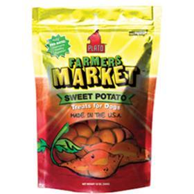 Plato Pet Treats Farmers Market Sweet Potato Strips