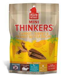 Plato Pet Treats Mini Thinkers Carrot Turkey Peanut Butter Recipe