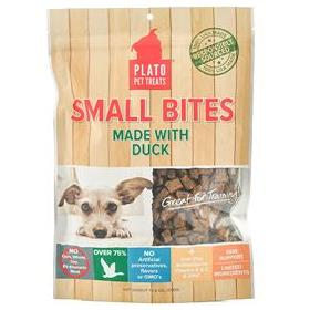 Platos Farmers Market Small Bites Duck Dog Treats
