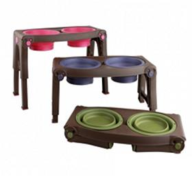 Popware Adjustable Pet Feeder