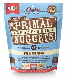 Primal Canine Quail Freeze Dried Formula